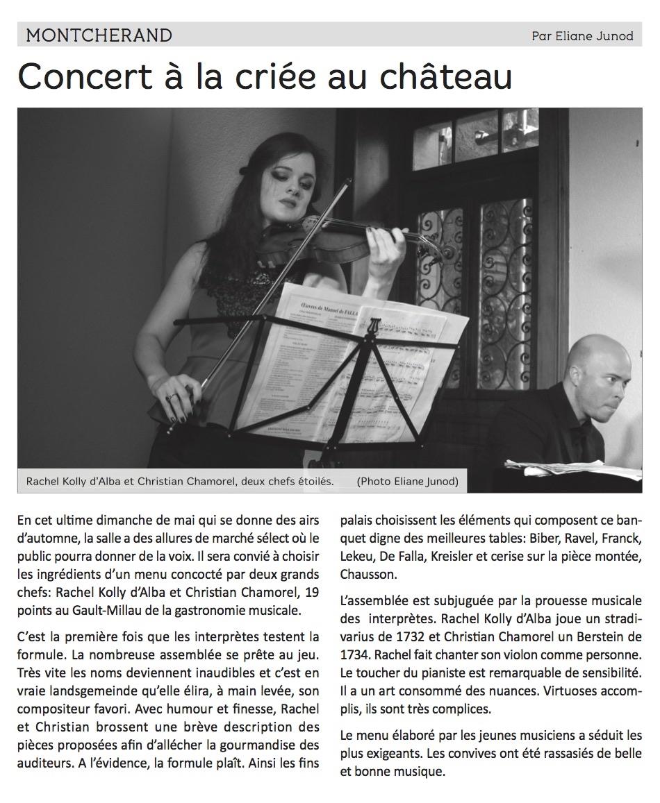 Concert critique