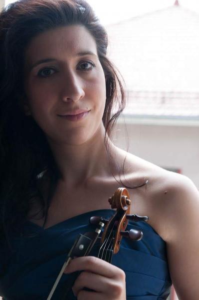 Maite louis violoniste